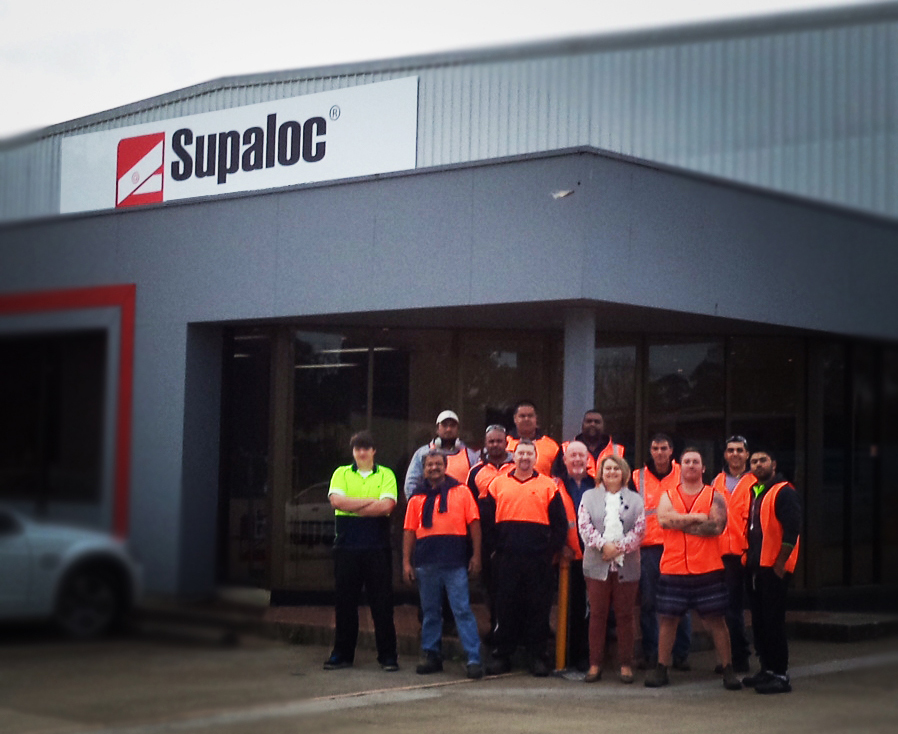 Supaloc's Minto Factory turns one