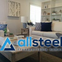 Brand new Allsteel Transportable display home opening