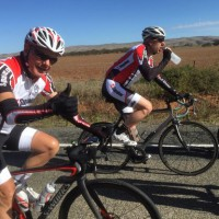 Kevin rides to cure Parkinson's, in Weeks on Wheels
