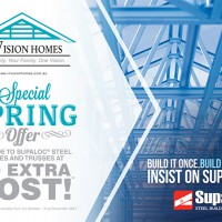 InVision Homes offer Supaloc Spring Special