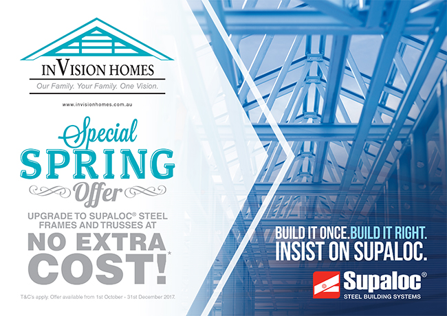 InVision Homes Supaloc Spring Special
